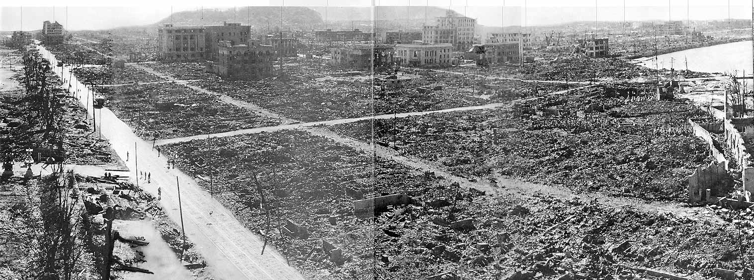After the Atomic Bomb and Hiroshima Today